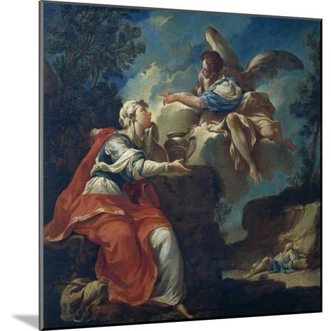 Angel Comforts Hagar in Desert-Francesco Mosso-Mounted Giclee Print