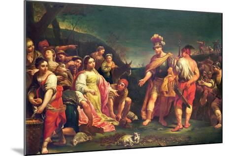 The Offering of Abigail before David-Giuseppe Mengoni-Mounted Giclee Print