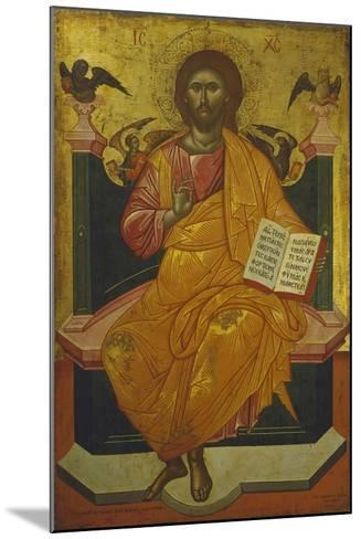 Christ on the Throne, Icon-Emmy Thornam-Mounted Giclee Print