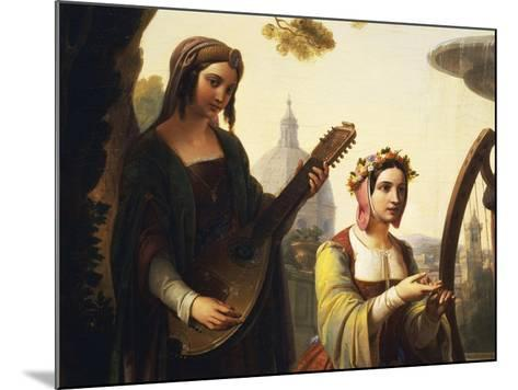 The Storytellers of the Decameron, 1851-Francesco Primaticcio-Mounted Giclee Print