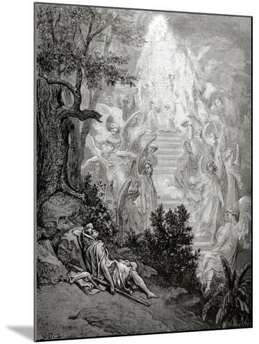 Jacob's Dream-Gustave Dor?-Mounted Giclee Print