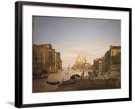 The Grand Canal in Venice, 1838-Francis Cotes-Framed Art Print