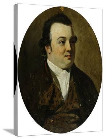 Marmaduke Tunstall, Esq. of Wycliffe-Herbert Hofer-Stretched Canvas Print