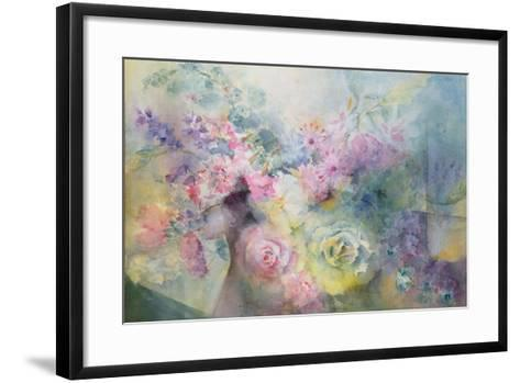 Summer Border-Karl Theodor von Piloty-Framed Art Print