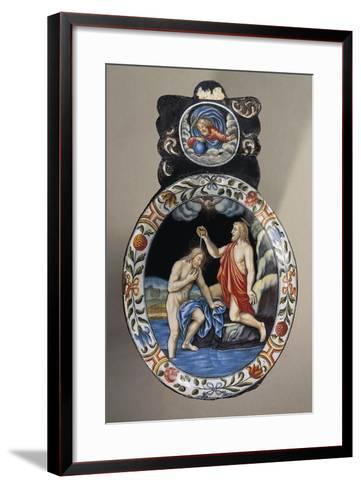 Baptism of Christ, France-O.A. Sickert-Framed Art Print