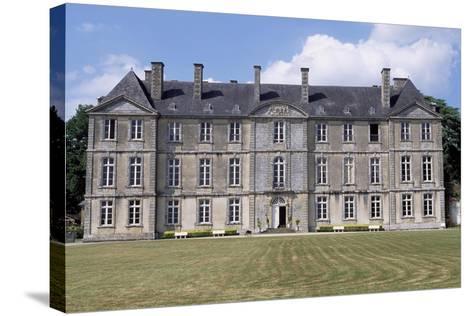 Chateau De Loyat's Facade, 1718-1734-Olivier Delourme-Stretched Canvas Print