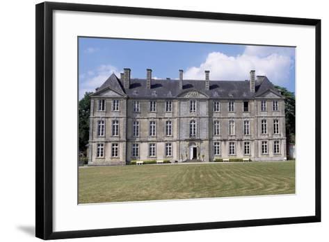 Chateau De Loyat's Facade, 1718-1734-Olivier Delourme-Framed Art Print