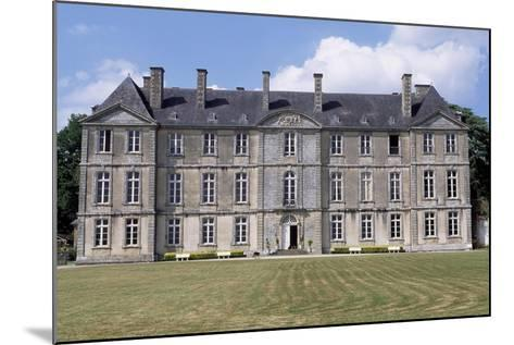 Chateau De Loyat's Facade, 1718-1734-Olivier Delourme-Mounted Giclee Print