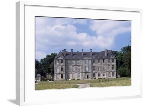 Chateau De Loyat's Facade, 1718-1734--Framed Art Print