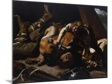 David and Goliath-Orazio Grevenbroeck-Mounted Giclee Print