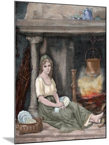 Cinderella-Paul Legrand-Mounted Giclee Print