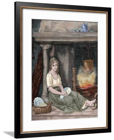 Cinderella-Paul Legrand-Framed Art Print