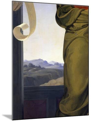 The Sacred Music, Detail, 1841-Luigi Nono-Mounted Giclee Print