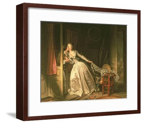 The Stolen Kiss, C.1788-Jean-Philippe Rameau-Framed Art Print