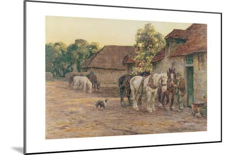 Evening-J^ M^ W^ Turner-Mounted Giclee Print