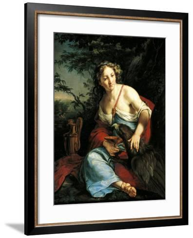Hebe and Jupiter-Suzanne Valadon-Framed Art Print