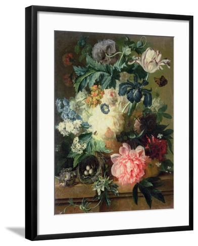 Still Life of Flowers-Pauline Baynes-Framed Art Print