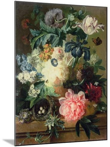 Still Life of Flowers-Pauline Baynes-Mounted Giclee Print