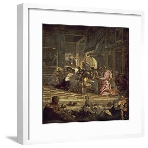 The Last Supper-Jacopo Sansovino-Framed Art Print