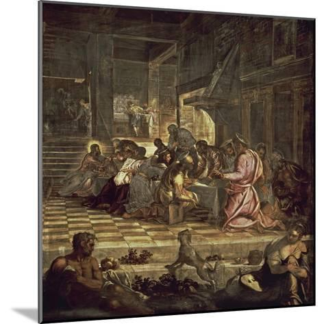 The Last Supper-Jacopo Sansovino-Mounted Giclee Print