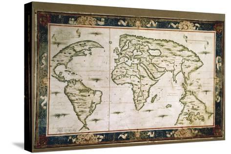 Planisphere, 1566-Nicolas Lancret-Stretched Canvas Print