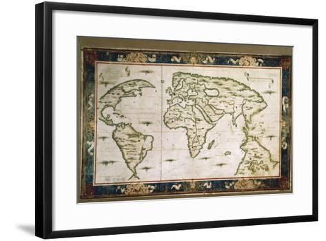 Planisphere, 1566-Nicolas Lancret-Framed Art Print