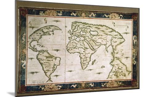 Planisphere, 1566-Nicolas Lancret-Mounted Giclee Print