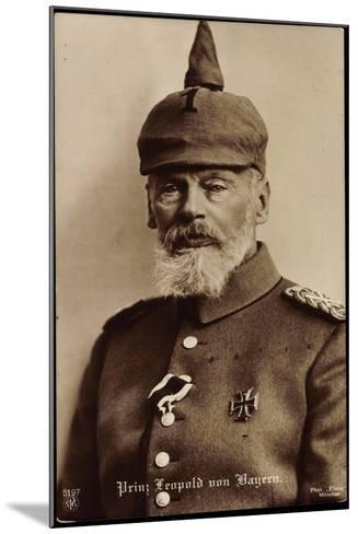 Prinz Leopold Von Bayern, Npg 5797, Spitzhut--Mounted Giclee Print