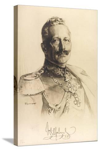 Künstler Trumpf, Friedrich Wilhelm II, Auszeichnungen--Stretched Canvas Print