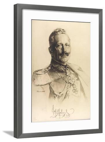 Künstler Trumpf, Friedrich Wilhelm II, Auszeichnungen--Framed Art Print