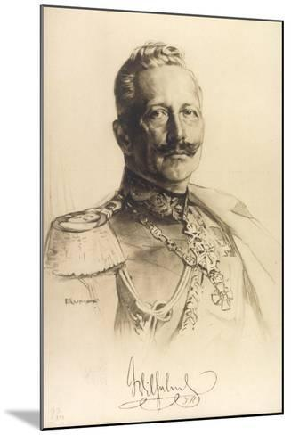 Künstler Trumpf, Friedrich Wilhelm II, Auszeichnungen--Mounted Giclee Print