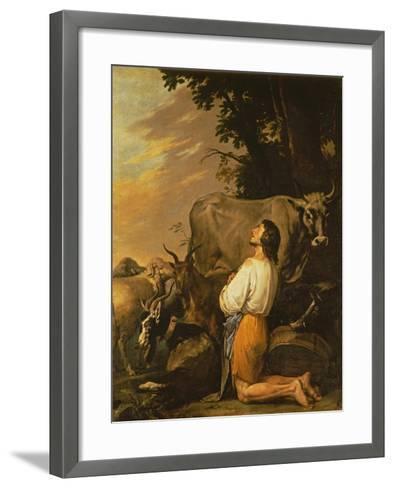 The Prodigal Son, 1650S-Salvatore Giusti-Framed Art Print