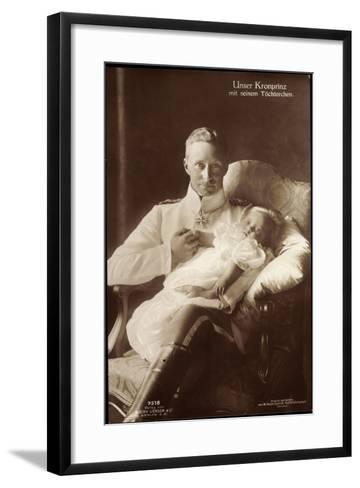 Kronprinz Wilhelm Von Preußen, Liersch 7518--Framed Art Print