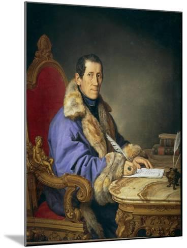 Portrait of Don Germanico Bernardi, 1836-Pompano Mariana-Mounted Giclee Print