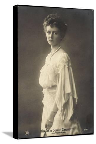 Herzogin Sophie Charlotte Von Oldenburg, Rph 5137--Stretched Canvas Print