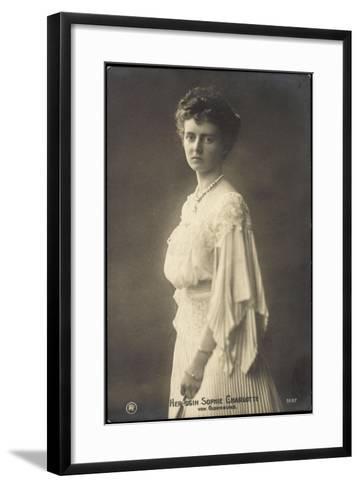 Herzogin Sophie Charlotte Von Oldenburg, Rph 5137--Framed Art Print