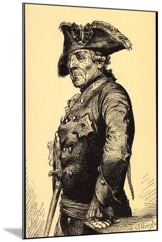 K?nstler Menzel, A., Friedrich Der Gro?e V Preu?en--Mounted Giclee Print