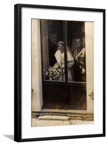 Niederlande, Prinzessin Juliana Und Prinz Bernhard--Framed Art Print