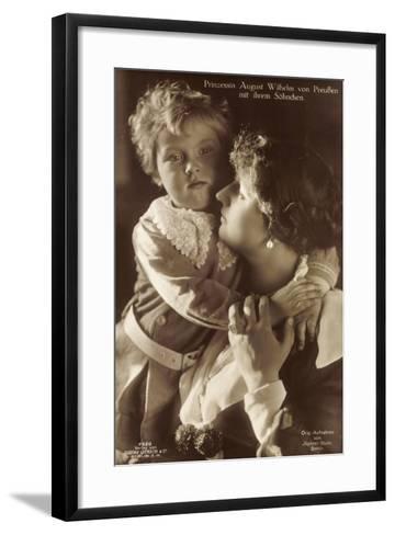 Prinzessin August Wilhelm Von Preußen, Sohn, Liersch--Framed Art Print