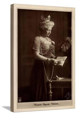 Deutsche Kaiserin Auguste Victoria, Npg 4606--Stretched Canvas Print