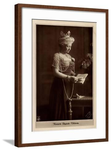 Deutsche Kaiserin Auguste Victoria, Npg 4606--Framed Art Print