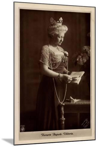 Deutsche Kaiserin Auguste Victoria, Npg 4606--Mounted Giclee Print