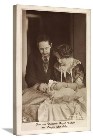 Prinz Und Prinzessin August Wilhelm Von Preußen--Stretched Canvas Print