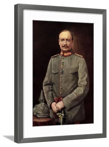 K?nstler Friedrich August III, K?nig Von Sachsen--Framed Art Print
