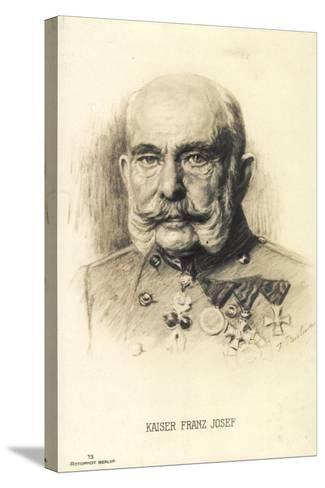 Künstler Kaiser Franz Josef I. Von Österreich, Rph 13--Stretched Canvas Print
