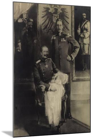 F?nf Generationen Von Prinzen, Adler, Kind--Mounted Giclee Print