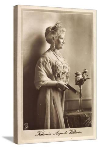Kaiserin Auguste Viktoria, Npg 4510, Krone, Kette--Stretched Canvas Print