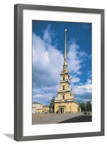 Russia, Saint Petersburg, Historic Centre, Peter and Paul Fortress and Cathedral--Framed Art Print
