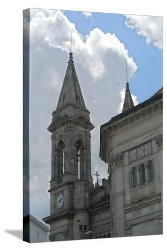 Italy, Puglia, Le Murge, Alberobello, Church of Saints Cosmas and Damian--Stretched Canvas Print