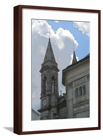 Italy, Puglia, Le Murge, Alberobello, Church of Saints Cosmas and Damian--Framed Art Print